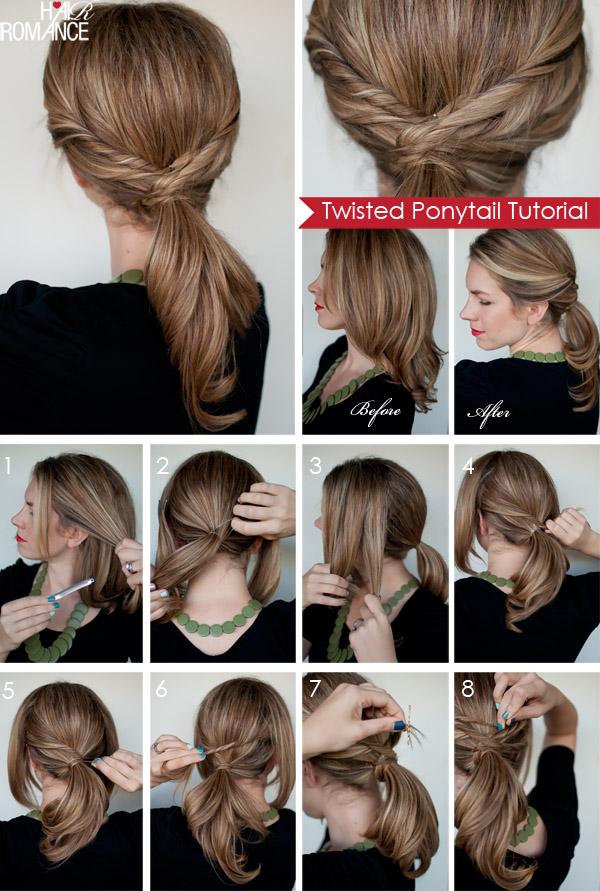 Причёски для средних волос схемы