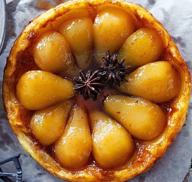 Французский пирог с грушей Tarte Tatin