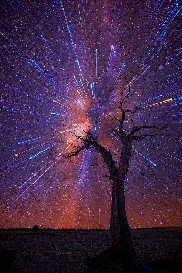 Как сделать звездного неба на телефон