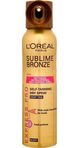 Спрей Sublime Bronze L'orealParis